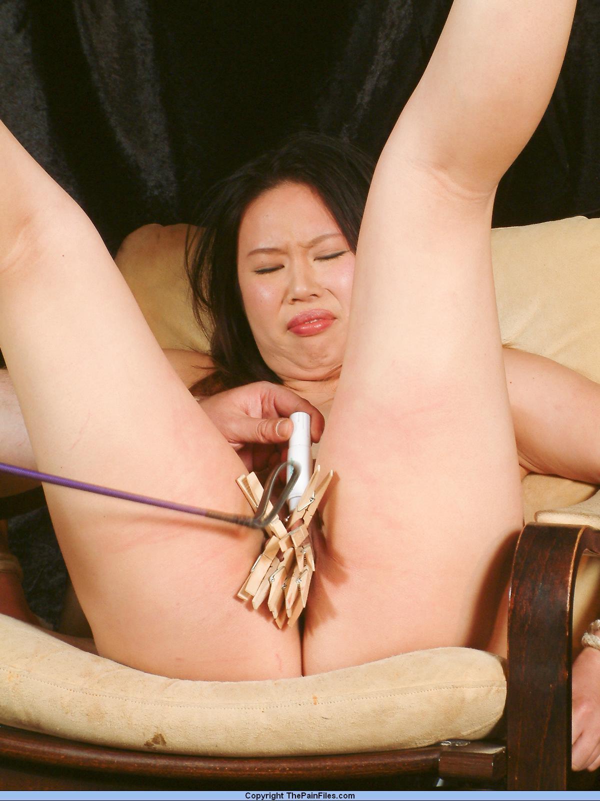 Sadomaso Sex In Japan featuring pussy spanking of Tigerr Benson